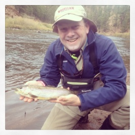 Marc Kochamba Fishing Trout in Colorado!